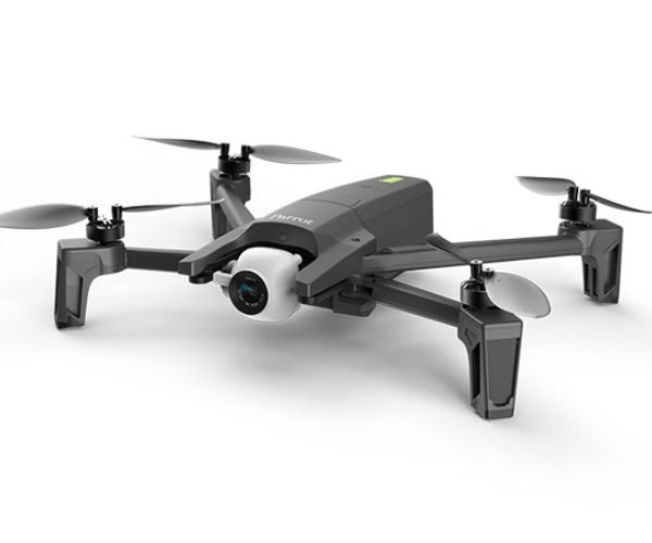 Parrot ANAFI Folding Drone Records 4K Stabilized Video