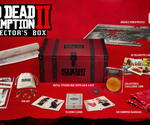Red Dead Redemption 2 Collector's Box Packed with Goodies, but No Game