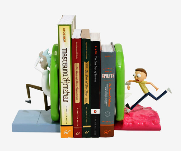 Rick and Morty Portal Bookends: Shumshumschilpiddydah!