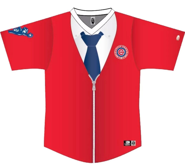 buy popular c7771 778fe Minor League Baseball Team to Wear Mister Rogers' Cardigan ...