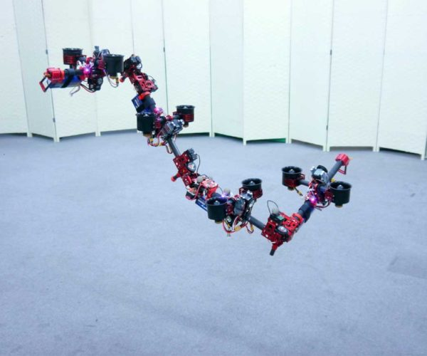 Flying DRAGON Robot Creeps into Your Nightmares on Ducted Wings