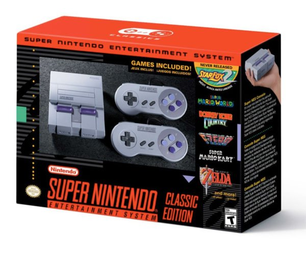 Giveaway: Win an SNES Classic Game System!