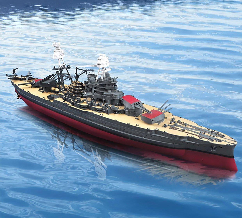 3-foot-long USS Arizona Model Sets Sail via Remote Control