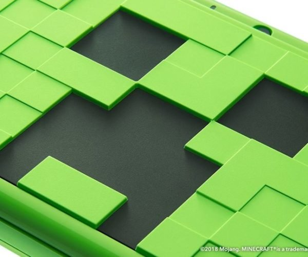 Nintendo Unveils Minecraft Creeper 2DS LL in Japan