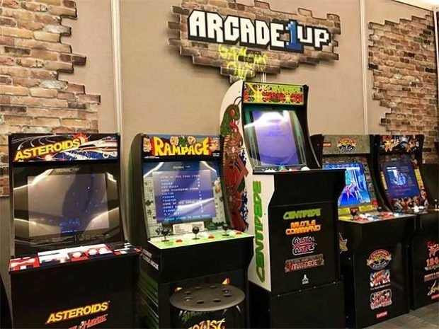 1UP Arcade Your Cabinets  Scale You 3/4 Live Let Arcade