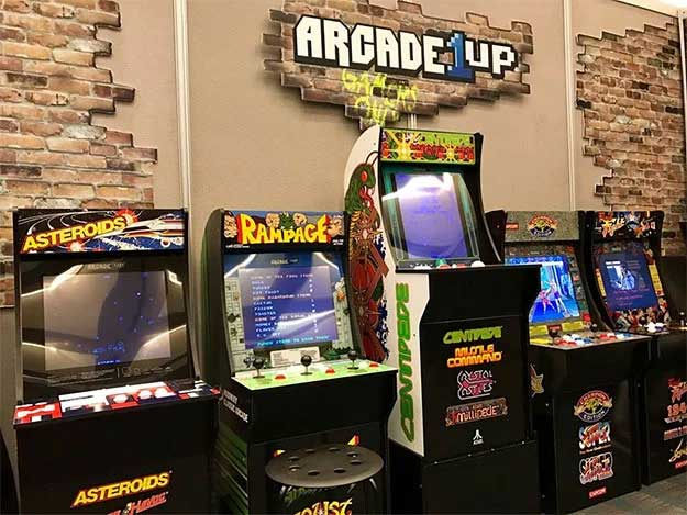 Terrific Arcade 1Up 3 4 Scale Arcade Cabinets Let You Live Your Ricky Download Free Architecture Designs Rallybritishbridgeorg