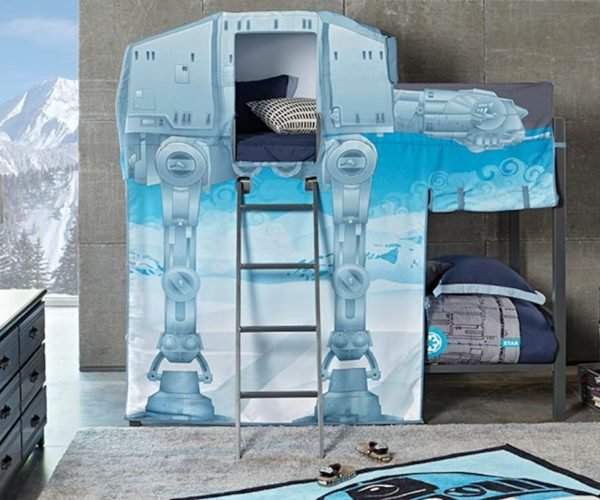 The Force Is Strong with This AT-AT Bunk Bed