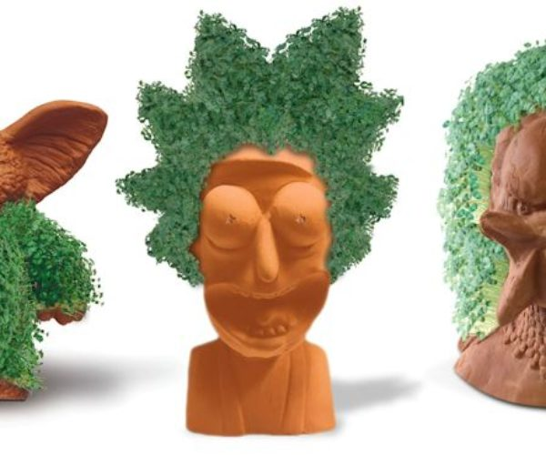 Rick and Morty, Gremlins, and Golden Girls Chia Pets Growing for Geeky Green Thumbs