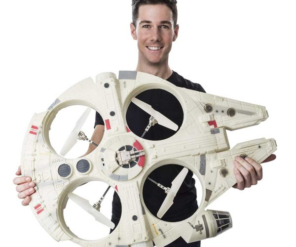 Gigantic Millennium Falcon Drone Has it Where is Counts, Kid.