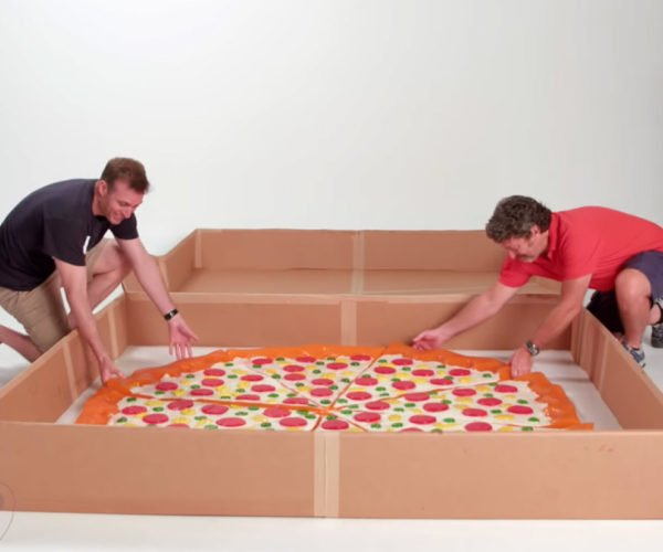 Wilford Brimley Would Hate this Giant 225lb Gummy Pizza