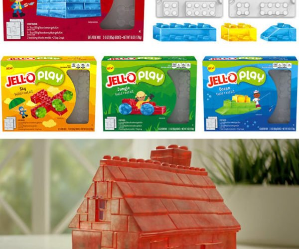 These Jell-O Molds Make LEGO-Like Building Blocks