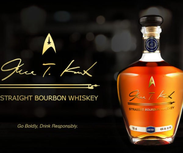 Captain Kirk Gets His Very Own Whiskey