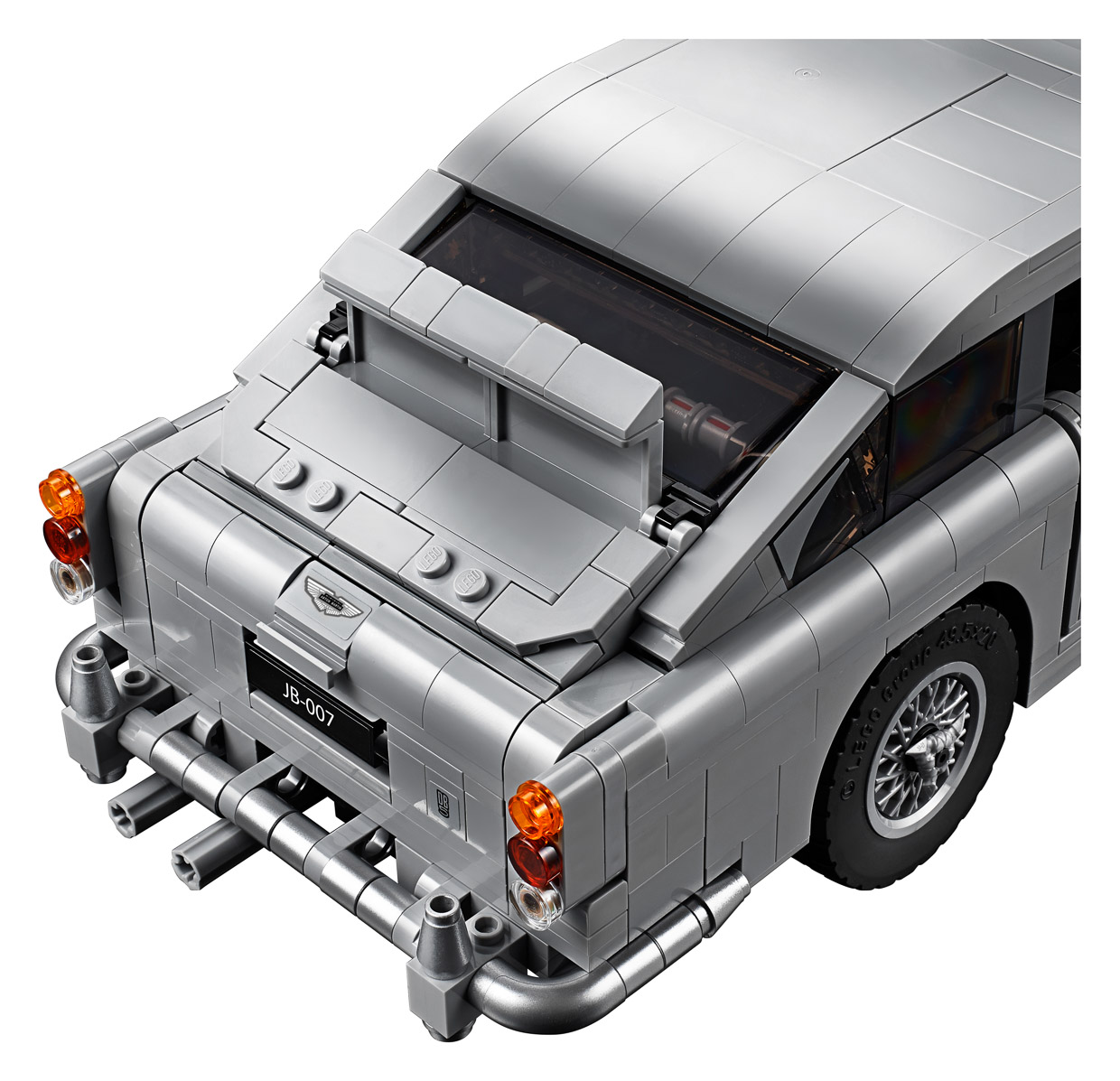 LEGO James Bond Aston Martin DB5 Has A Working Ejector Seat
