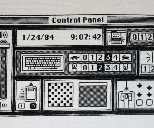 The Original Macintosh Finder Control Panel, Cross-stitched