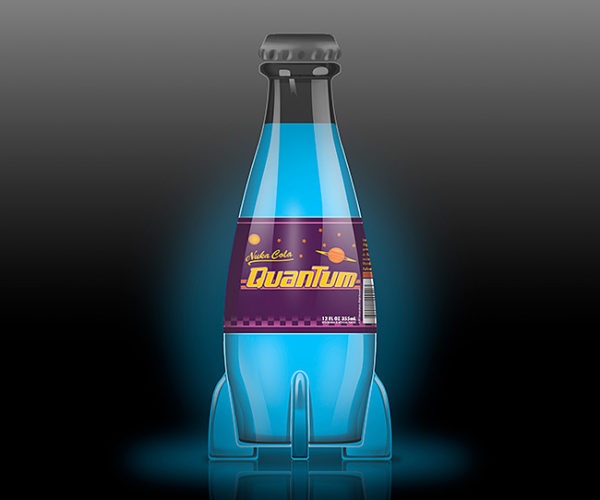 Feeling Blue? Get This Fallout Nuka-Cola Quantum Mood Light