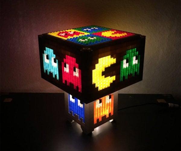 Pac-Man LEGO Lamps: Bricka Bricka Bricka