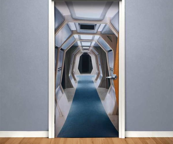 Star Trek TNG Corridor Door Cover Makes It So… Cool