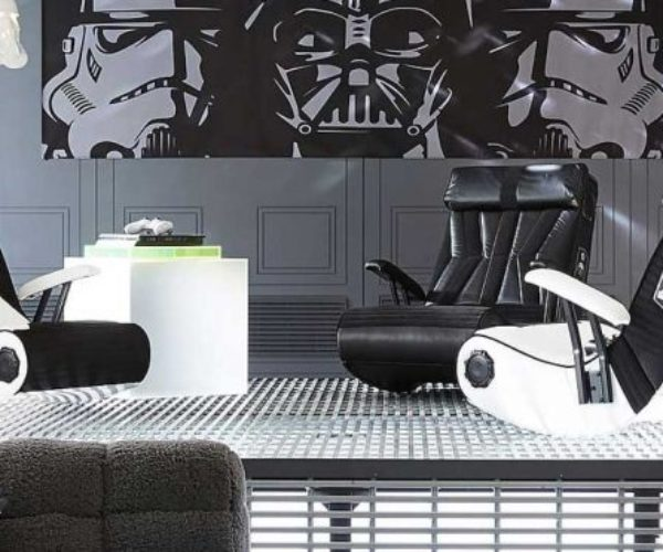 Star Wars Gaming Chairs: For The Dark Side of Your Backside