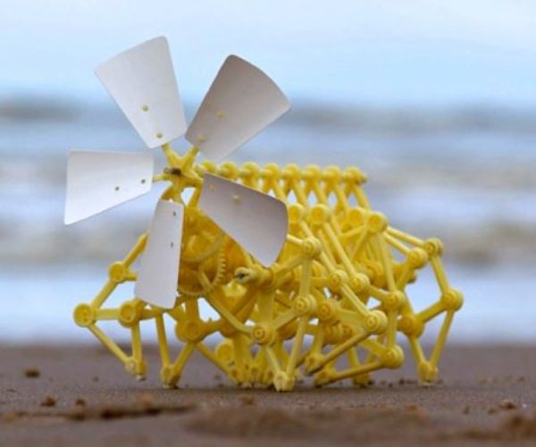 Now You Can Bulid Your Own Strandbeest