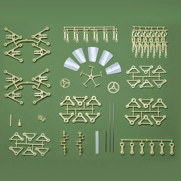 Now You Can Bulid Your Own Strandbeest - Technabob