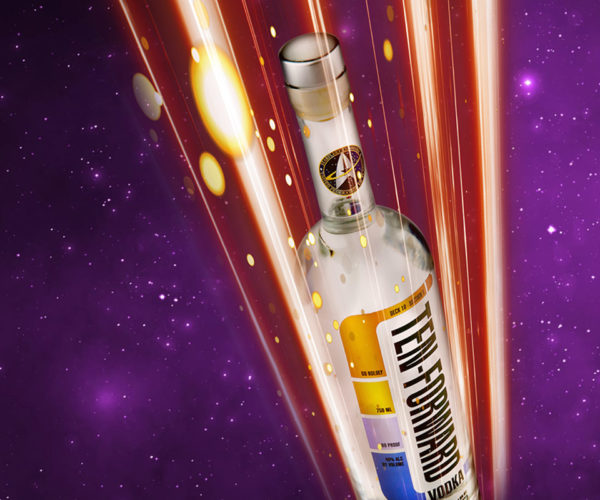 Star Trek: The Next Generation Vodka: Party in Ten-Forward!