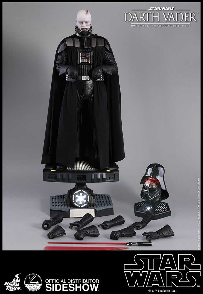 Hennessey Venom F5 >> Hot Toys Darth Vader Special Edition 1/4 Scale Figure: The Dark Side Wants Your Dollars