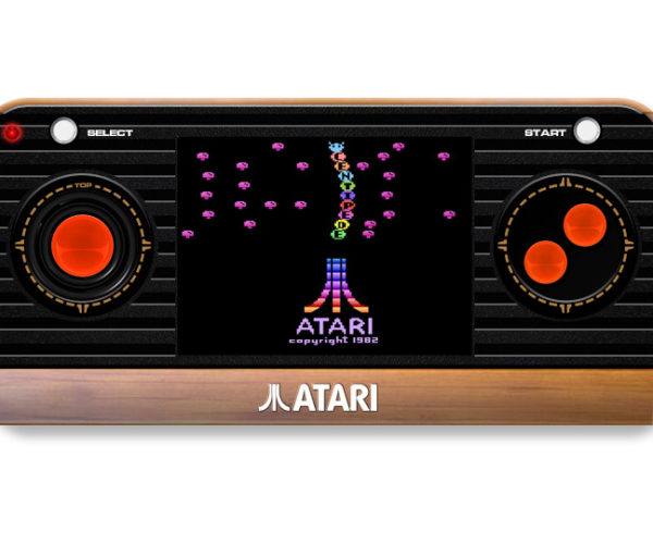 Atari 2600 Returns as Handheld Console and New Plug-and-play Joystick