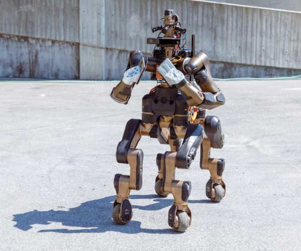 Centauro Robot is Part C-3PO, Part Centaur