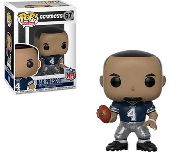 NFL Dak Prescott Cowboys Pop! Figure Won't Win the Funko Superbowl