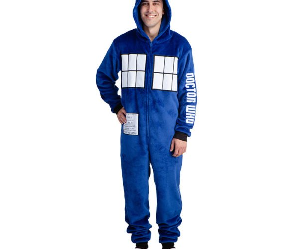 Doctor Who TARDIS Hooded Onesie: Your Gut Is Bigger on the Inside