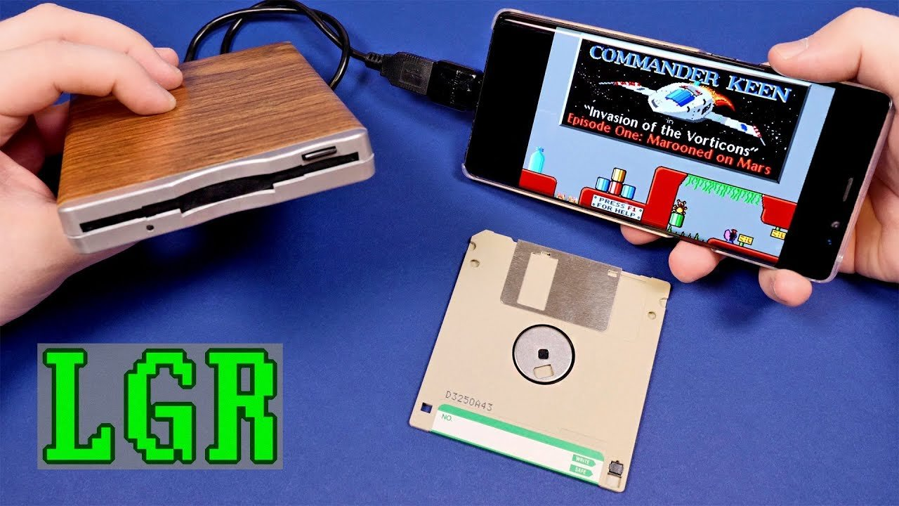 play floppy disk games on your smartphone technabob