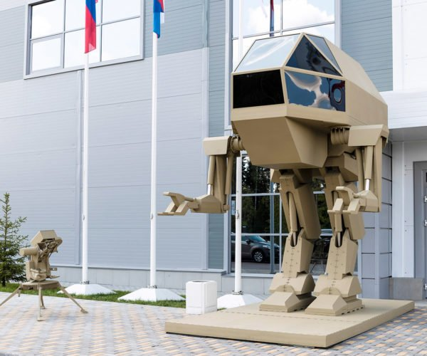 Russian Arms Maker Reveals Mecha Concept: You Have Five Seconds to Comply