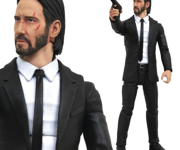 John Wick Action Figure Wants to Avenge His Dog Action Figure