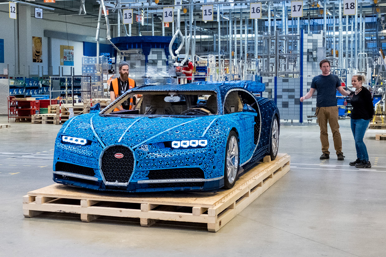 This Life Size Lego Bugatti Chiron Looks Incredible And Really Can