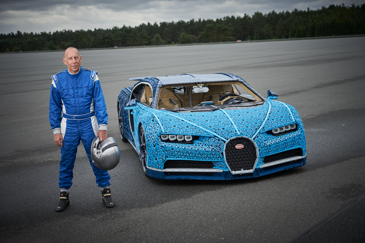 this life size lego bugatti chiron looks incredible and. Black Bedroom Furniture Sets. Home Design Ideas