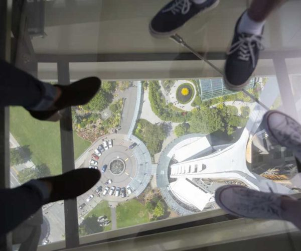 Seattle Space Needle Gets Vertigo Inducing Glass Floor of Nopes