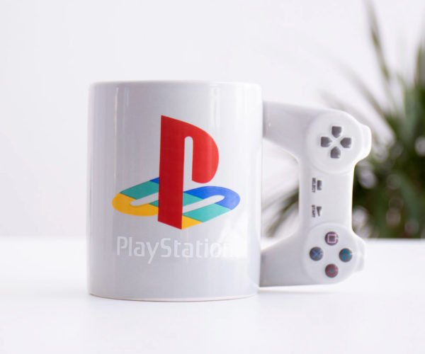 PlayStation Controller Coffee Mug: Live In Your World, Drink in Ours