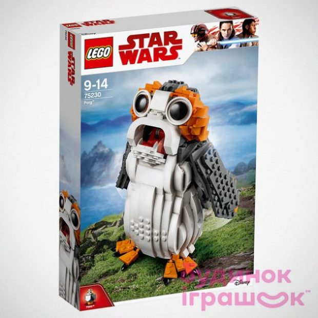 LEGO Star Wars Porg Set Commemorates Stupid Little Birds
