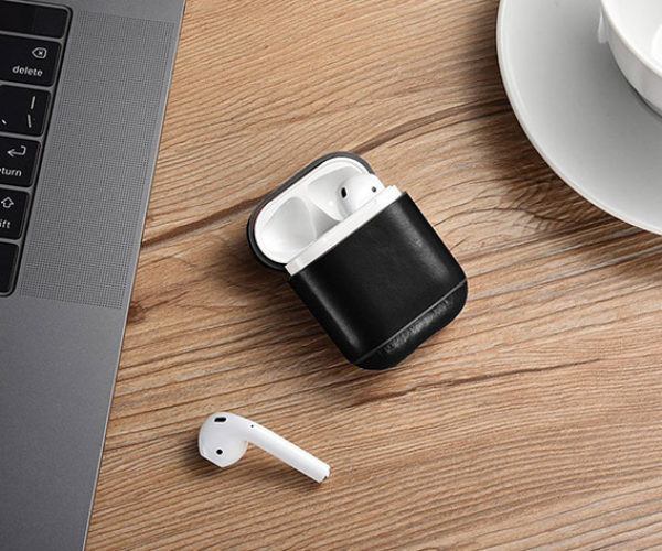 Protect Your AirPods with This Sweet Leather Case