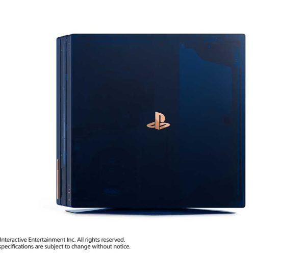 Sweet Translucent Blue PS4 Pro Limited Edition Celebrates 500 Million PlayStations