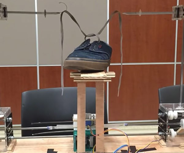 This Robot Will Tie Your Shoelaces for You