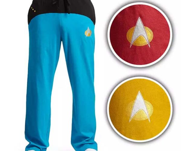 Star Trek TNG Uniform Lounge Pants Are Perfect for Comfort in Your Quarters