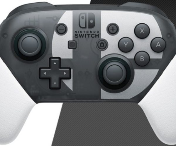 Super Smash Bros. Ultimate Edition Nintendo Switch Pro Controller