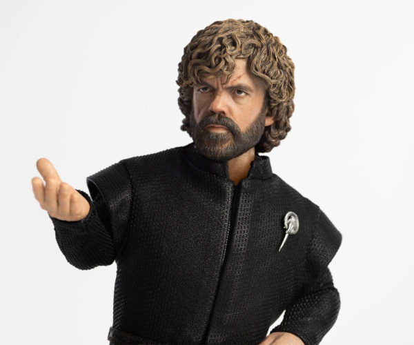 Threezero Tyrion Lannister Action Figure Drinks and Knows Things