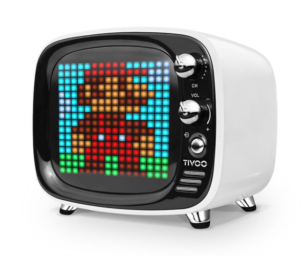 Celebrate Flashback Friday with This Retro Pixel Art Bluetooth Speaker