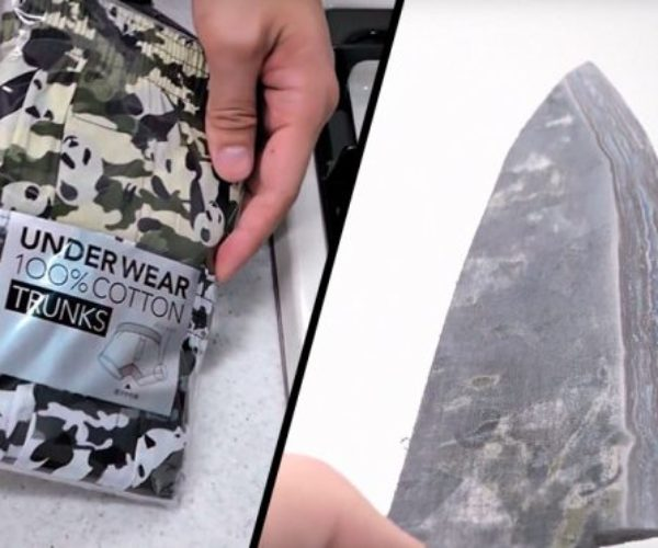Underwear Knife: Underwear That's Cut to Wear