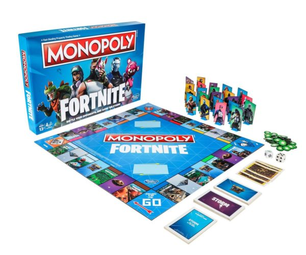 Fortnite Monopoly: Board Battle Royale