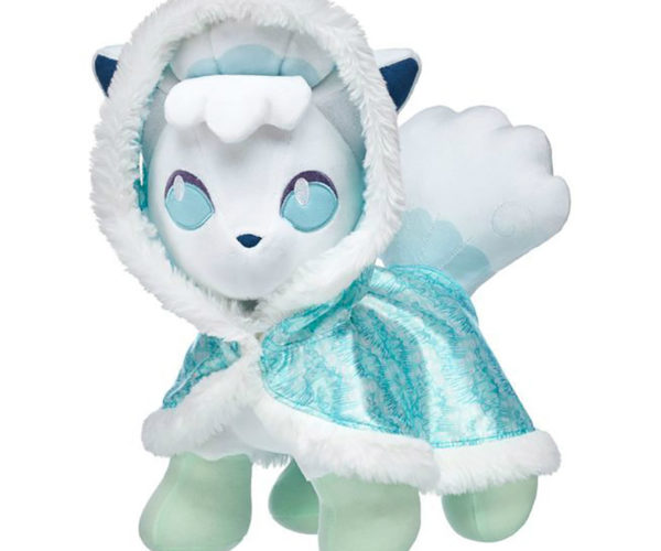 Adorable Alolan Vulpix Pokémon Build-A-Bear: What's the Fox Say?