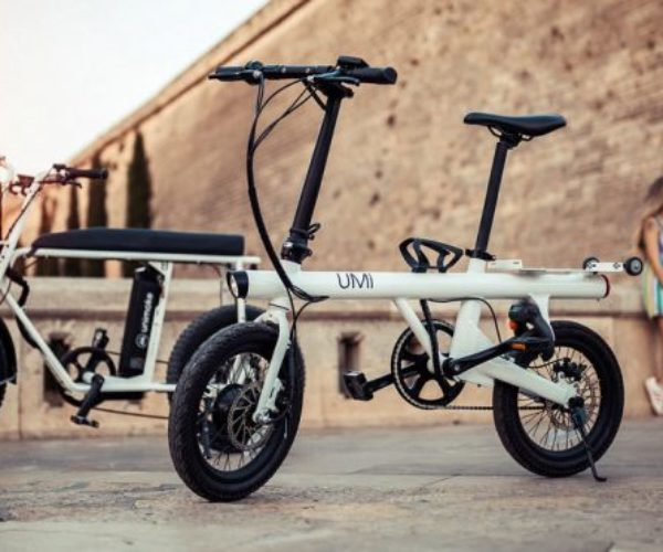 Uni Micro Electric Folding Bike: Small, But Packed with Features