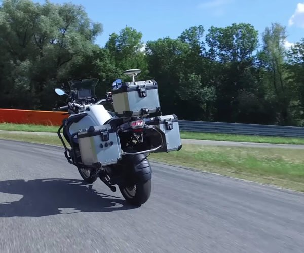 This BMW Motorcycle Can Drive Itself